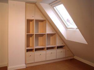 Einbau Möbel aus Vollholz