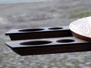 Spieltisch aus Vollholz der Tischlerei Rieckhoff