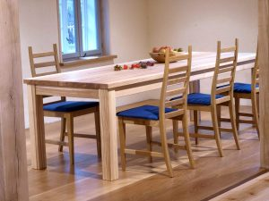 Tisch 3 aus Vollholz Möbeln der Tischlerei Rieckhoff in Bleckede